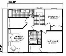 robert fillmore house plans fillmore nad 1860 square foot two story floor plan