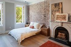 Backstein Tapete Schlafzimmer - 50 delightful and cozy bedrooms with brick walls