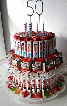 geschenke zum 50 unglaubliche ideen duplo schokolade geschenk und