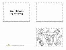 Thank You Card Template Pages by Printable Thank Yous Education