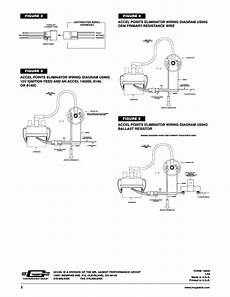 wiring diagram for accel distributor figure 3 figure 2 distributor wire harness mallory ignition accel points eliminator