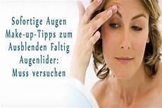 up tipps sofortige augen make up tipps zum ausblenden faltig augenlider muss versuchen augenlider