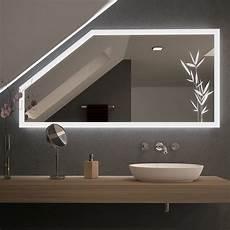 spiegel f 252 r dachschr 228 mit led beleuchtung planteo 989707004