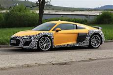 new audi r8 spied testing potential v6 gtspirit