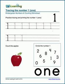 numbers 1 to 10 worksheets k5 learning