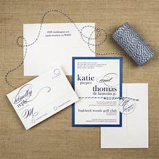 bakers twine wedding invitations too chic little shab