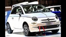 Fiat 500 Collezione - 2018 geneva motor show new fiat 500 collezione 124 s