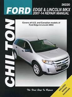chilton 26220 repair manual 2007 13 ford edge lincoln mkx ebay chilton repair manual for ford edge and lincoln mkx 2007 2014 26220