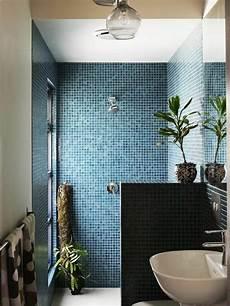 Id 233 E D 233 Coration Salle De Bain Mosaique Bleu Fonc 233