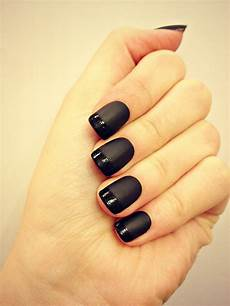 stylish black nail designs you can do yourself