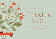 thank you card template for comming to event free card maker create custom designs canva