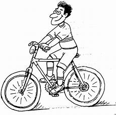 Malvorlagen Rider Fahrradfahrer 3 Ausmalbild Malvorlage Sonstiges