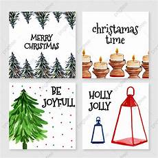 watercolor merry christmas cards template for free download pngtree