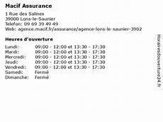 ᐅ Macif Assurances Horaires D Ouverture 1 Rue Des