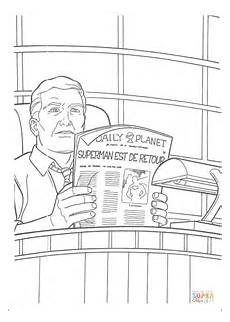 newspaper colouring pages 17708 perry white editor in chief of the daily planet coloring