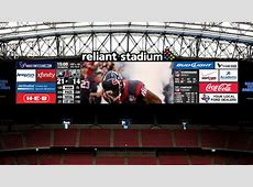 Reliant Stadium video board upgrades on track