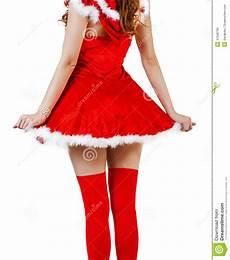 weihnachtsfrau die rotes weihnachtsmann kleid tr 228 gt