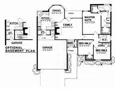 1300 square foot house plans traditional style house plan 3 beds 2 baths 1300 sq ft