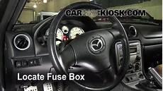 1990 1997 Mazda Miata Interior Fuse Check 1993 Mazda