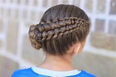 how to create a zipper braid updo hairstyles cute
