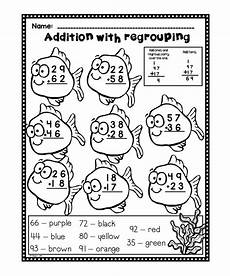 free worksheets on addition with regrouping 9765 19 best primary math anchor charts images on math anchor charts second grade and