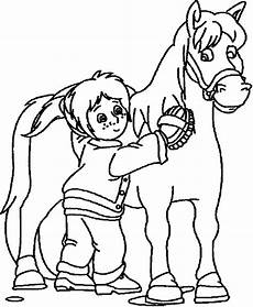 Ausmalbilder Bibi Und Tina Pferde Bibi Und Tina Ausmalbilder Pferde 06 Malvorlagen
