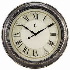 4655g geneva clock company 16 quot plastic antique gold finish