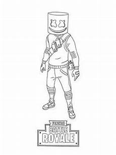 Malvorlagen Fortnite Io Fortnite Battle Royale Coloring Page Beef Skin