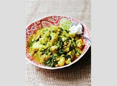 curried cauliflower and chickpeas_image
