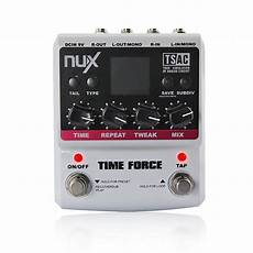 delay pedal with presets nux time multi digital delay effect guitar pedal 11 delay effects 9 preset kill