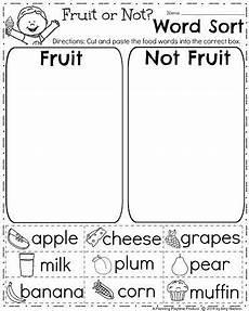 image result for free esl printable kinder worksheets fruits hjj first grade worksheets