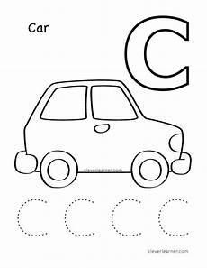 car coloring pages for preschoolers 16492 c is for cat coloring sheet for children letter c activities alphabet worksheets kindergarten