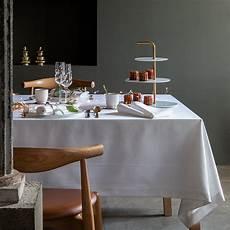 serviette de table persee blanc carre blanc