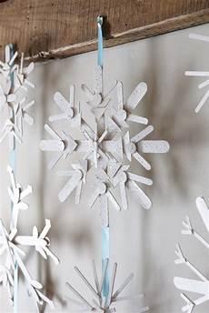 schneeflocken girlande basteln karin lidbeck 16 day count diy snowflake decor