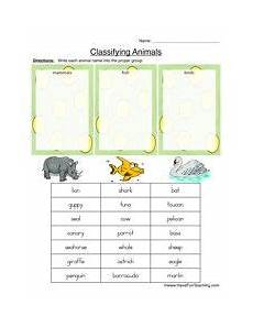 science worksheets on classification 12333 classifying animals worksheet mammals fish or birds animal worksheets classifying animals