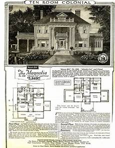 sears and roebuck house plans the magnolia c 1918 model house available through sears