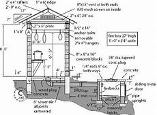 smoker house plans pin by james powell on living off the grid smoke house
