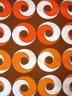 70er Jahre Stoff In 2019 Retro Pattern Print Patterns