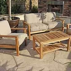 canape exterieur bois salon jardin teck massif banquette bois exterieur
