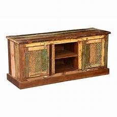 Tv Regal Holz - pioneer rustic reclaimed wood open shelf media tv stand