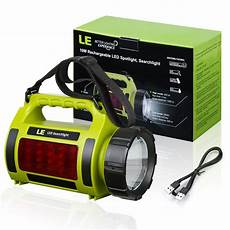 10w rechargeable led spotlight ipx4 searchlight cing