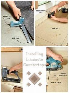 joe kistel demonstrates how to install new sheet laminate over an old countertop the laminate