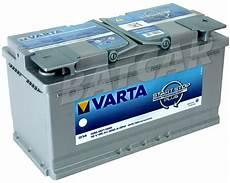 batterie 95 ah varta agm batterie 95 ah 95ah varta g14 start stop plus