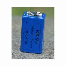 pile 9v lithium 1200ma 6f22 6lf22 am6 6lr61 1604a a9v 522