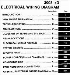 2008 Scion Xd Wiring Diagram 2008 scion xd wiring diagram manual original