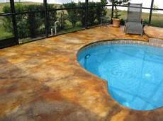 pool deck paint stain what s best for concrete pool decks