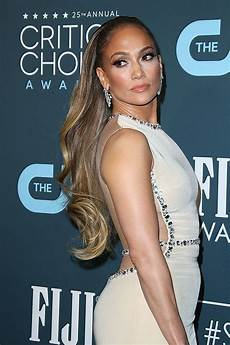jennifer lopez s critics choice awards 2020 hairstyle