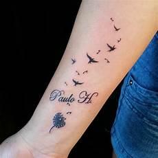 Schöne Kleine Tattoos - am unterarm kreuz herz am unterarm