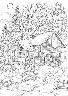 Malvorlagen Winter Erwachsene Winter House Druckbare Malvorlagen F 252 R Erwachsene