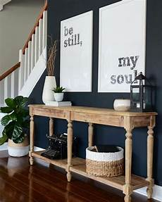 sherwin williams inkwell blue accent wall living room